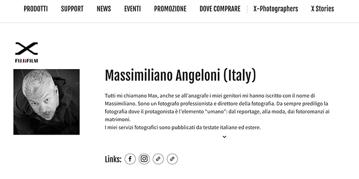 Max Angeloni Official Xphotographer
